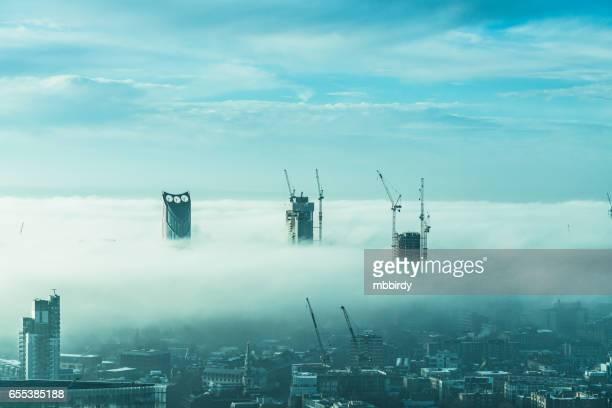 Skyscrapers in London, UK