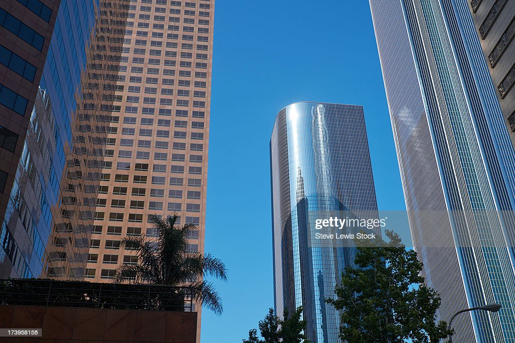 Skyscrapers in Los Angeles : Stock Photo