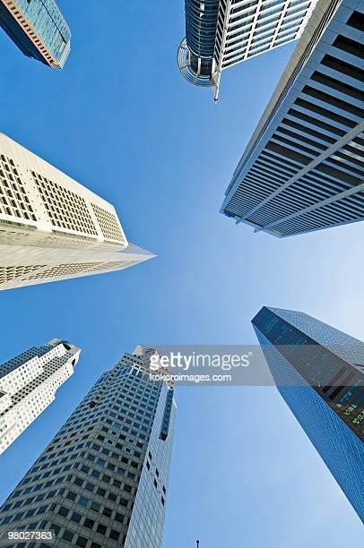 Skyscrapers in Raffles Place/CBD