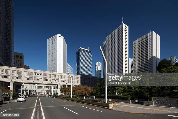 Skyscrapers in Shinjuku district, Tokyo