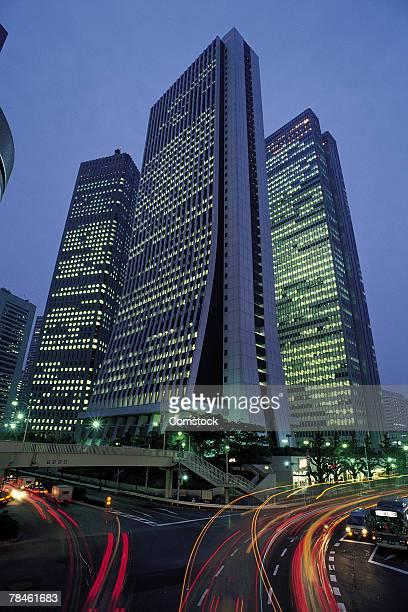 Skyscrapers in Shinjuku ward in Tokyo