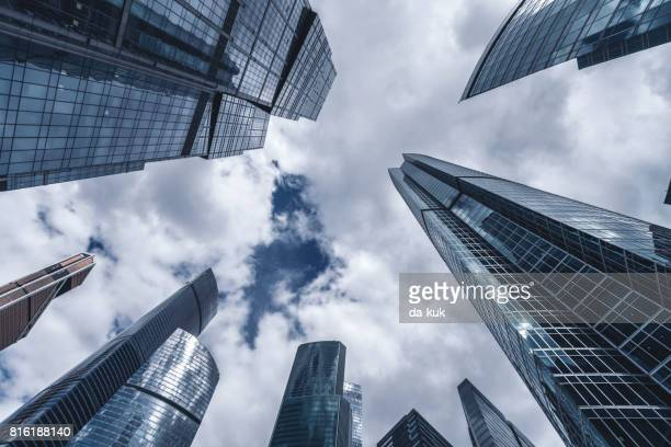 Gratte-ciels dans le quartier financier