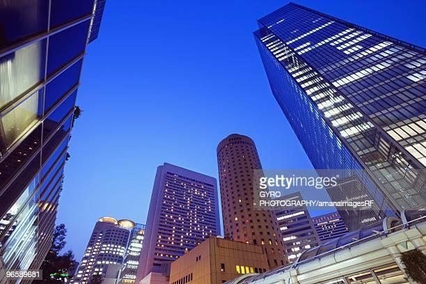 Skyscrapers in Umeda, Osaka, Japan