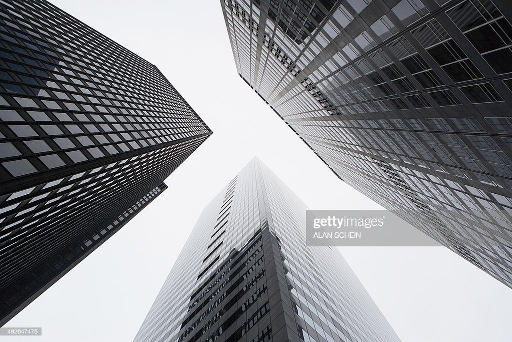 Skyscrapers, New York City, New York State, USA