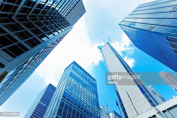 高層ビルニューヨーク市