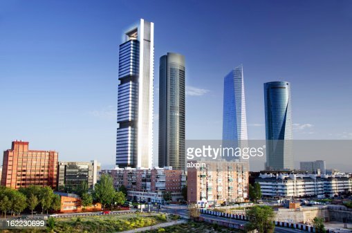 Skyscrapers of Madrid