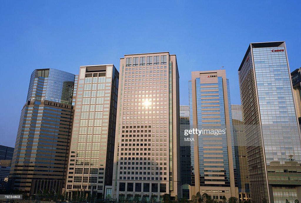 Skyscrapers, Shinagawa, Minato Ward, Tokyo, Japan : Stock Photo