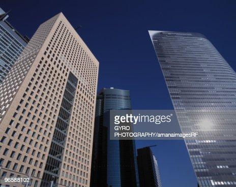 Skyscrapers, Tokyo Prefecture, Honshu, Japan : Stock-Foto