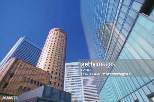 Skyscrapers. Umeda,  Osaka Prefecture,  Japan : Stock-Foto