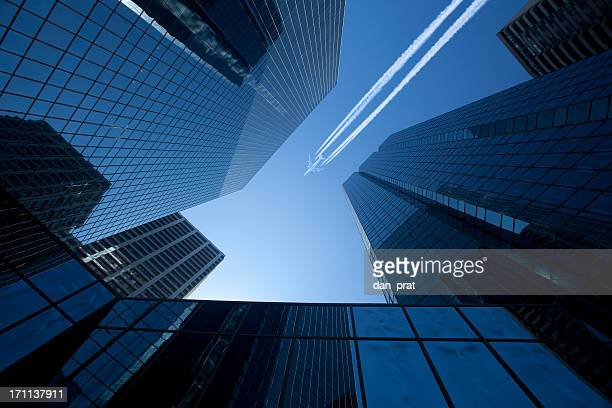 Skyscrapers with Jet