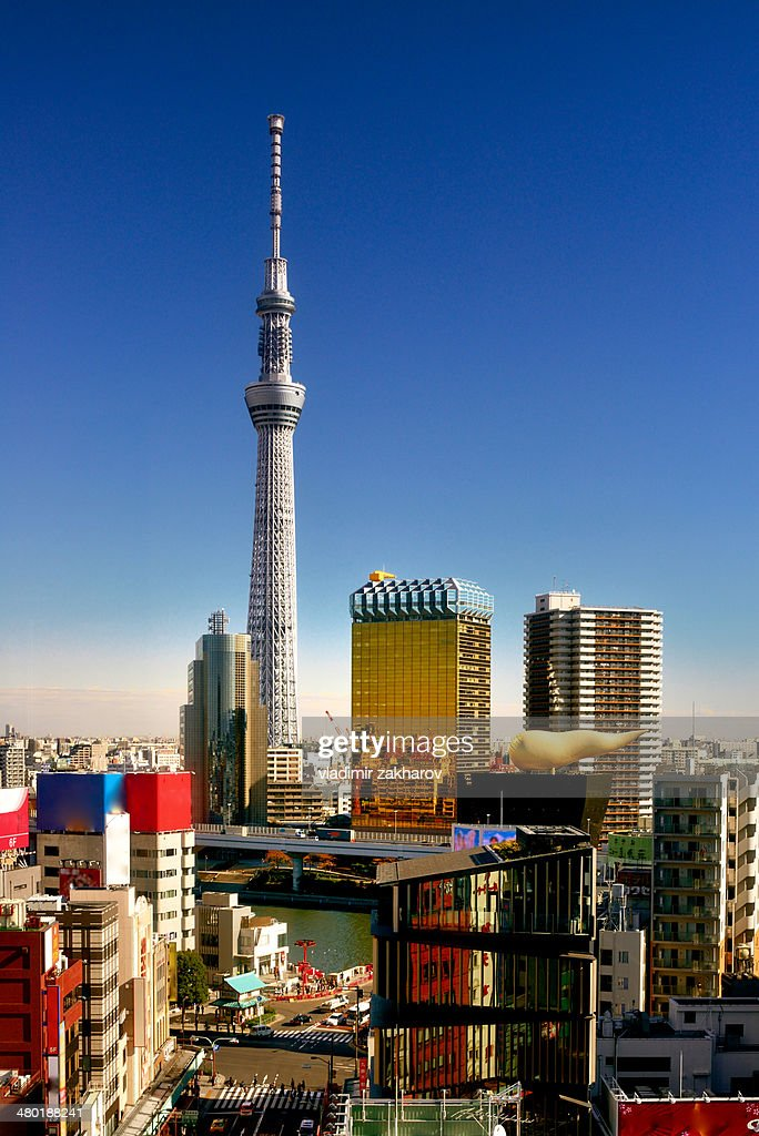 Skytree Tower and Asakusa district