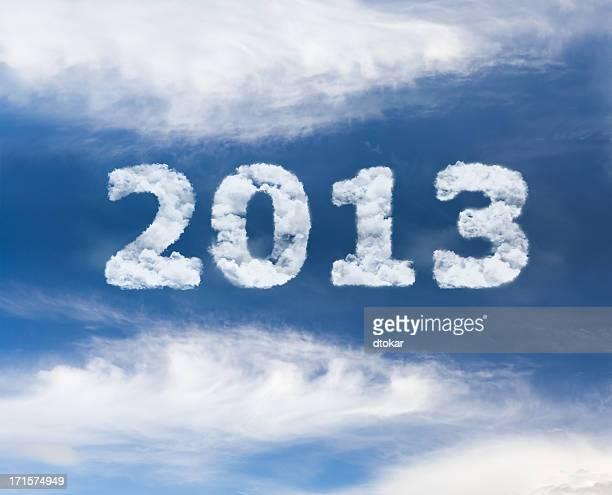 Pubblicità aerea con testo anno 2013