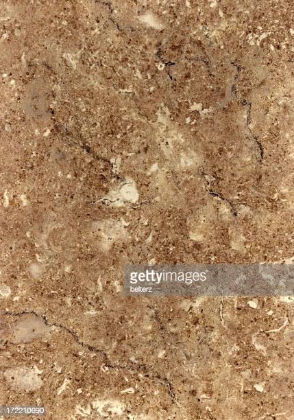 Slab of brown tinted marble texture