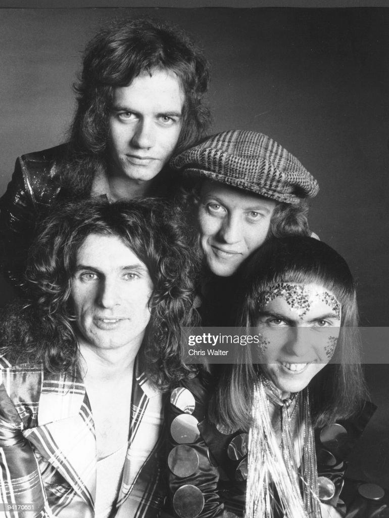 Slade 1973 Don Powell, Jim Lea, Noddy Holder, Dave Hill