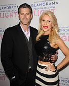 Slade Smiley and Gretchen Rossi attend Macy's Passport presents Glamorama at Orpheum Theatre on September 12 2013 in Los Angeles California