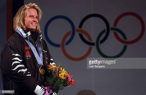 Slalom Frauen 190298 Hilde GERG GOLD