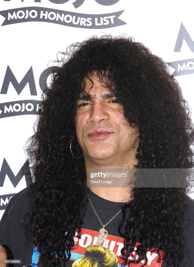 Slash during 2005 Mojo Honours List Awards - Arrivals at Porchester Hall in London, Great Britain.