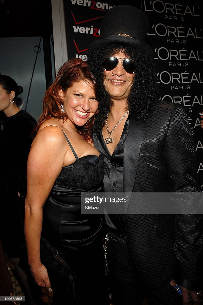 Slash of Velvet Revolver (right) and wife Perla *EXCLUSIVE*