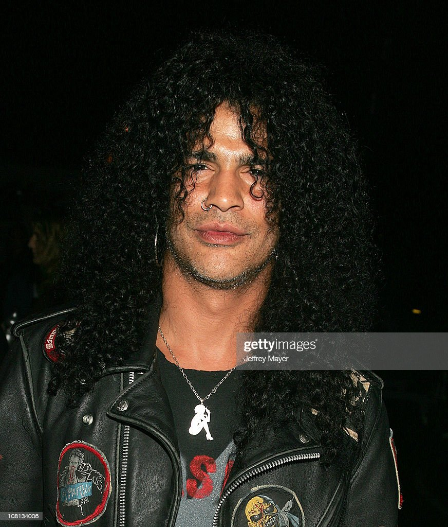 Slash of Velvet Revolver during Velvet Revolver Takes Over Sunset Blvd with Surprise Concert - October 13, 2004 at Sunset Blvd in Los Angeles, California, United States.