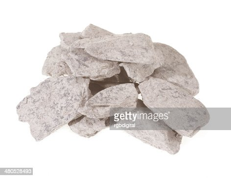 Slate chips : Stock Photo