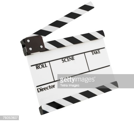 A slate for movie production