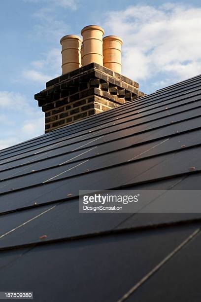Slate Roof and Chimney