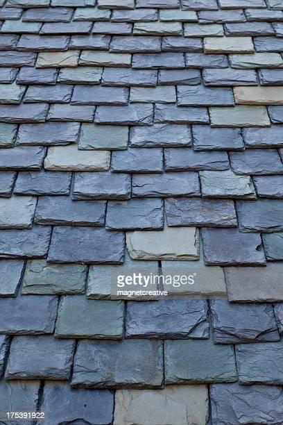 Slate Roof Shingle Pattern