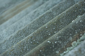 slate wave grain. old vintage background, slate lines in perspective