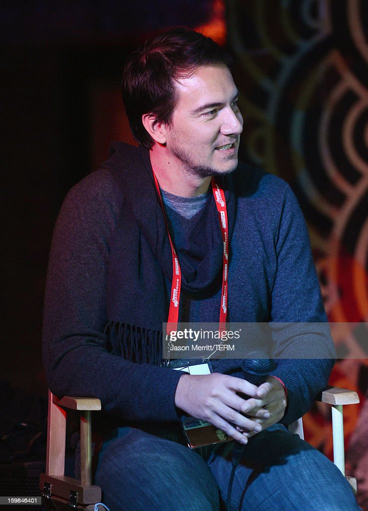 Slated co-founder and CEO Duncan Cork speaks during UCLA and The Wrap Sundance 2013 Panel at The Claim Jumper on January 21, 2013 in Park City, Utah.