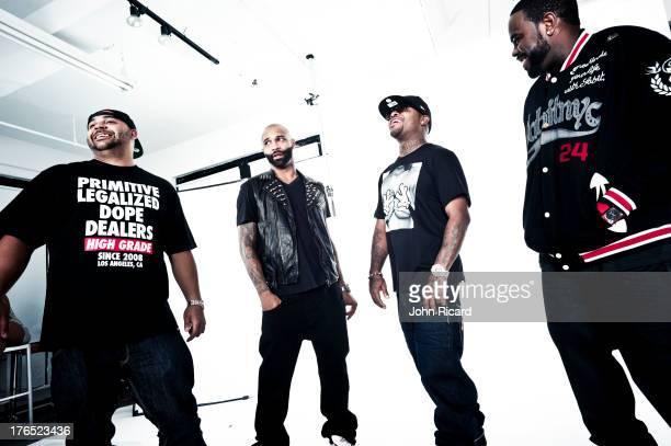 Slaughterhouse at John Ricard Studio on August 28 2012 in New York City