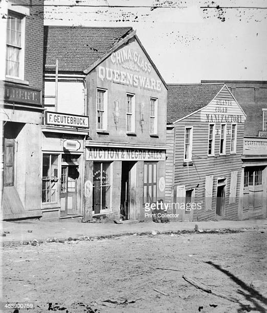 Slave auction shop Atlanta Georgia USA c186062
