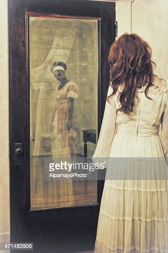 Slave's ghostly reflection in the mirror - II