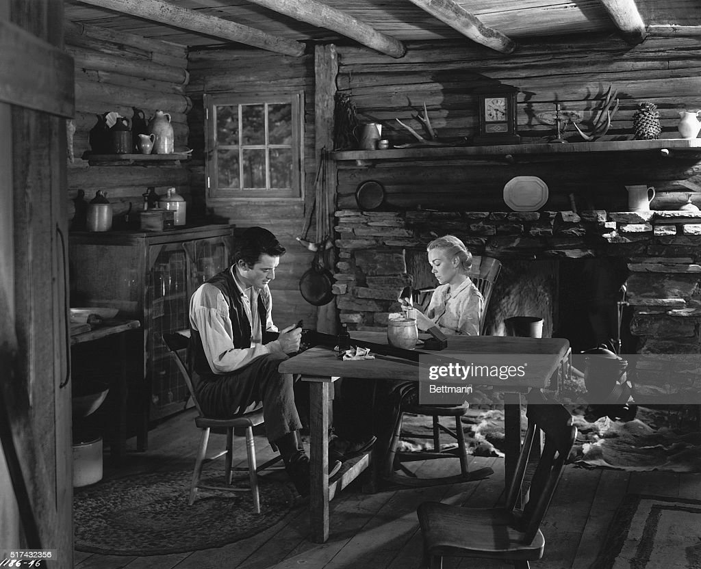 Slaves of the soil Gregory Peck and Jane Wyman are costarred for the first time on the screen in the dramatic roles of Penny and Ma Baxter...