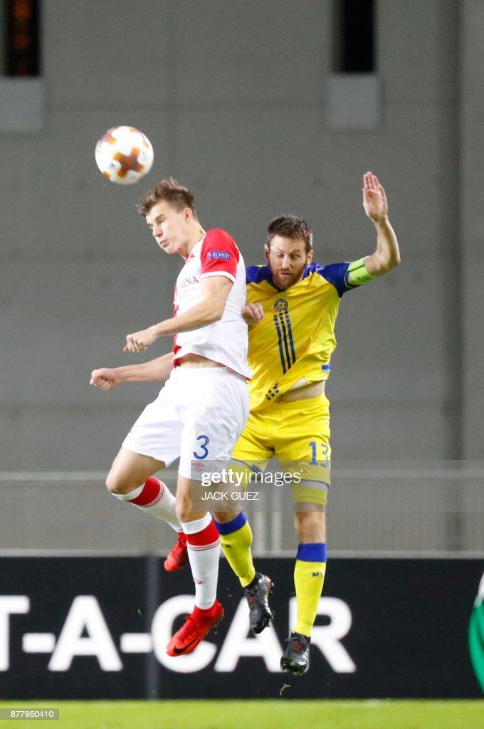 Maccabi Tel Aviv v Slavia Praha - UEFA Europa League
