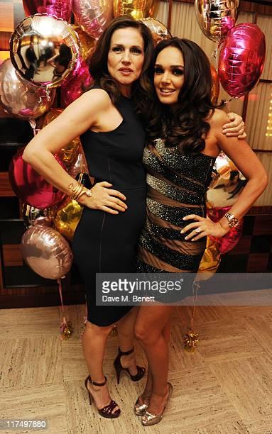 Slavica Ecclestone and Tamara Ecclestone celebrates her 27th birthday in the private room at Cipriani Restaurant on June 25 2011 in London