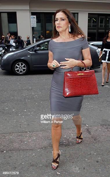 Slavica Ecclestone arriving at Nobu on June 2 2014 in London England