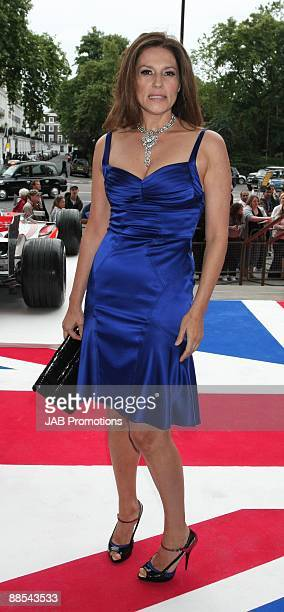 Slavica Ecclestone attends the F1 Party In Aid Of Great Ormond Street at Victoria Albert Museum on June 17 2009 in London England