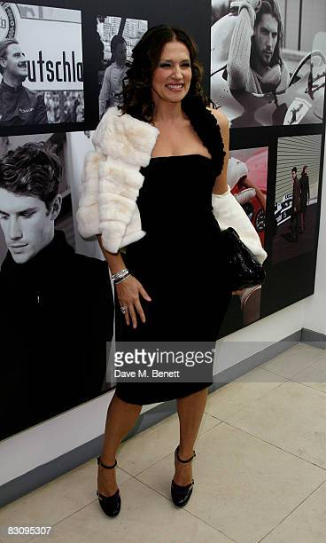 Slavica Ecclestone attends the launch party for Form Menswear at Harrods on October 2 2008 in London England