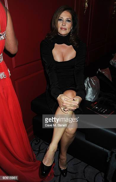 Slavica Ecclestone attends the opening party of The Red Room on November 2 2009 in London England
