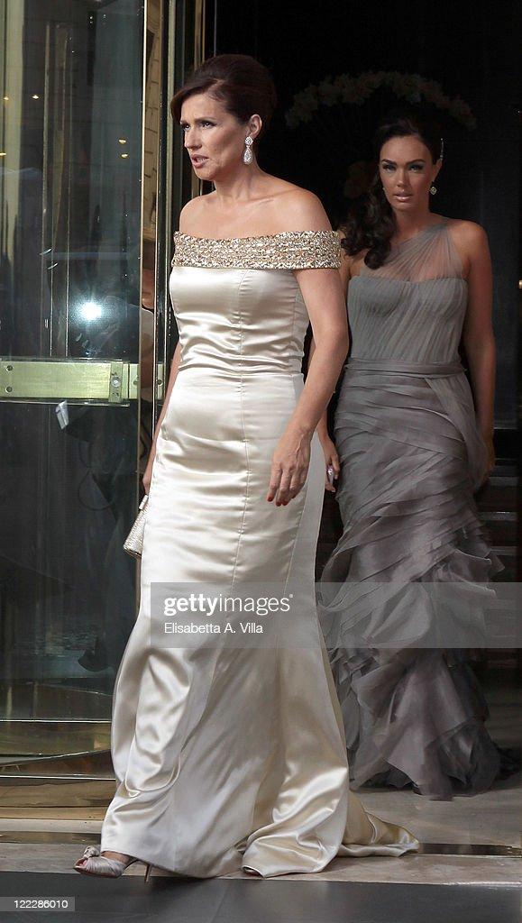 Slavica Radic Ecclestone And Tamara Sighted Leaving The Hler Hotel Ahead Of Wedding