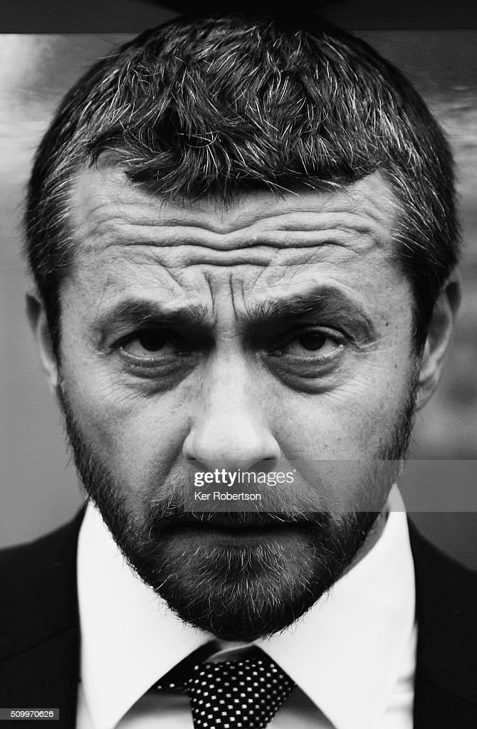 Slavisa Jokanovic the Fulham Head Coach looks on before the Sky Bet Championship match between Queens Park Rangers and Fulham at Loftus Road on February 13, 2016 in London, United Kingdom.