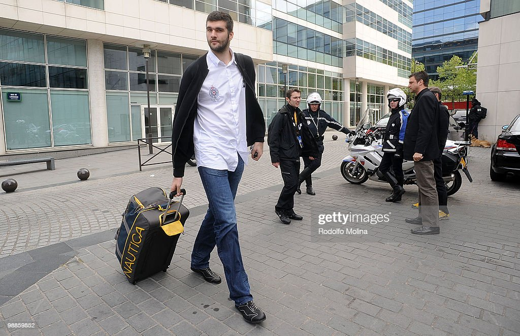 Partizan Belgrade Arrival