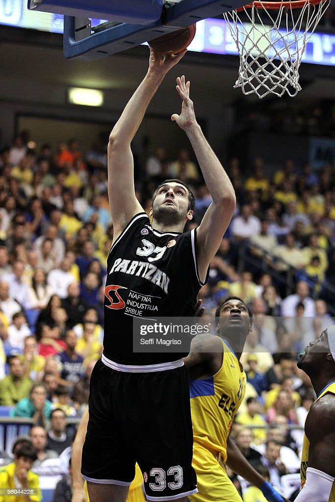 Maccabi Electra Tel Aviv v Partizan Belgrade - EuroLeague Basketball