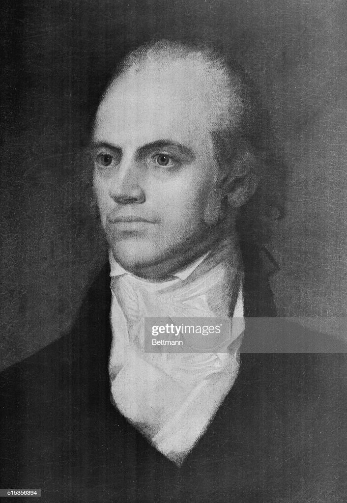 Image result for aaron burr  getty images