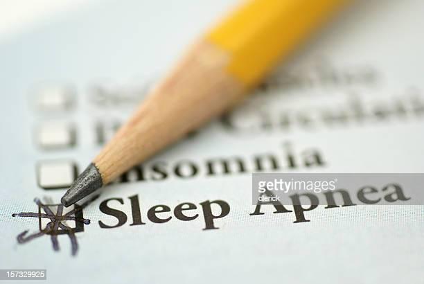 L'apnea del sonno cartella clinica