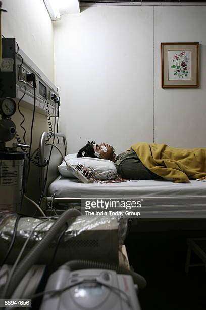 Sleep lab at Apollo Hospital in New Delhi India