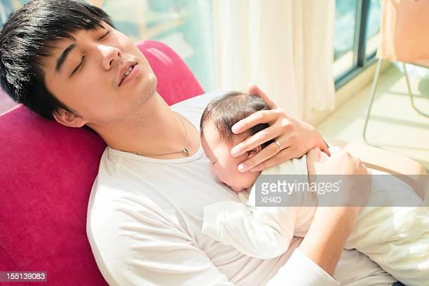sleep with a baby