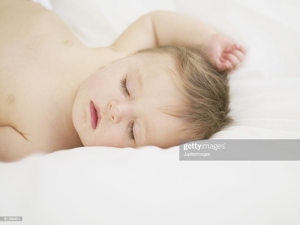 Sleeping baby : Stock Photo