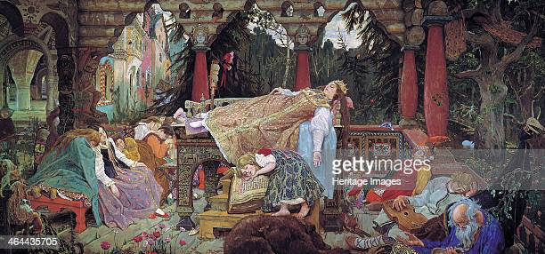'Sleeping Beauty' 19001926 Found in the collection of the V Vasnetsov Memorial Museum Moscow