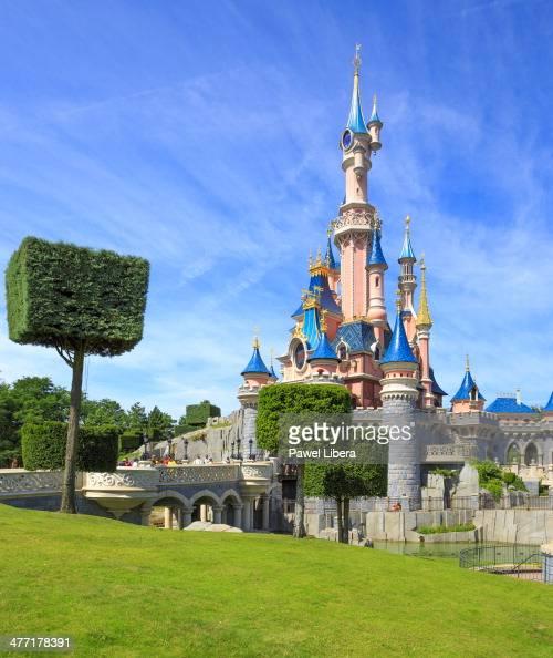 Sleeping Beauty Castle at Disneyland Paris